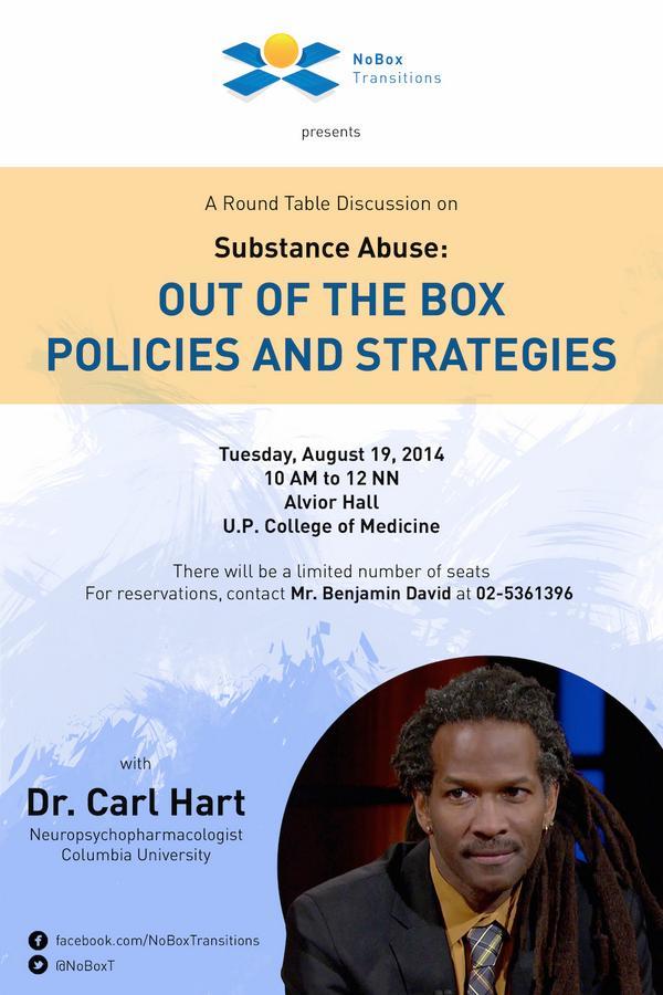 Carl Hart Drug Myths Philippines